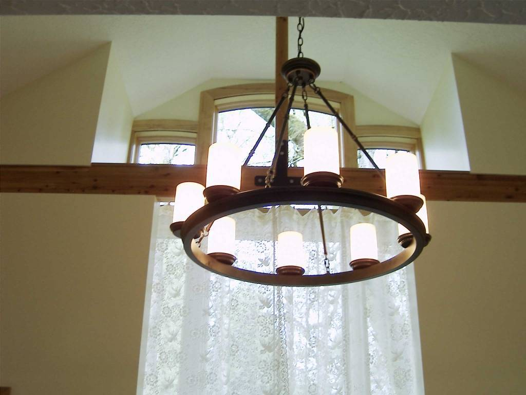 Chandelier at Mossy Cobbles